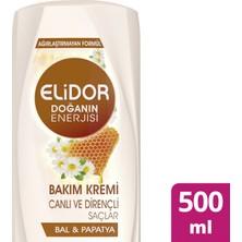 Elidor Canlı & Dirençli Saç Bakım Kremi 500 ml