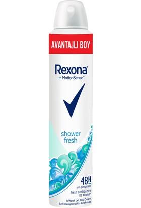 Rexona Shower Fresh Kadın Sprey Deodorant 200 ml