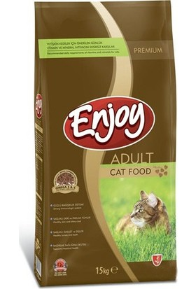 Enjoy Tavuklu Yetişkin Kedi Maması 15 Kg