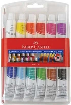 Faber-Castell Tüp Guaj Boya 12ml 12 Renk