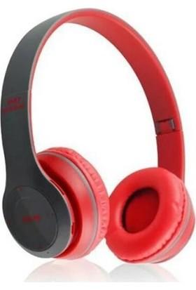 Gomax P47 Kablosuz Kulaklık Kırmızı