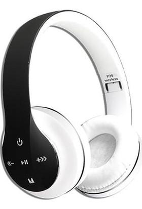 Gomax P35 Kablosuz Kulaklık Beyaz