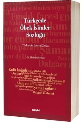 Türkçede Öbek İsim Sözlüğü - Mehmet Gedizli