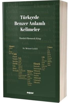 Türkçede Benzer Anlamlı Kelimeler - Mehmet Gedizli
