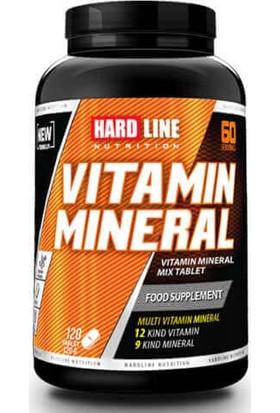 Hardline Multivitamin Mineral 120 Tablet Komplex Vitamin