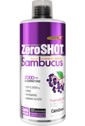 Zero Shot 1000 ml 2000 Mg L-Carnitin Plus Sambucus Karnitine