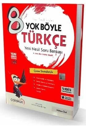 8. Sınıf Yok Böyle Türkçe Soru Bankası Çalışkan Yayınları