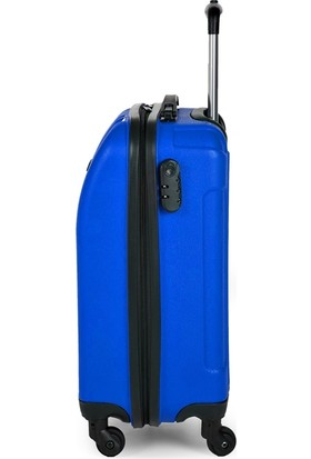 Blue Monkey V Model Kabin Boy Valiz Indigo Mavi