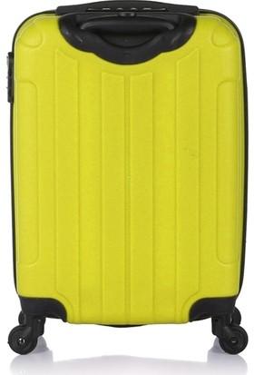 Blue Monkey V Model Kabin Boy Valiz Limon Yeşili