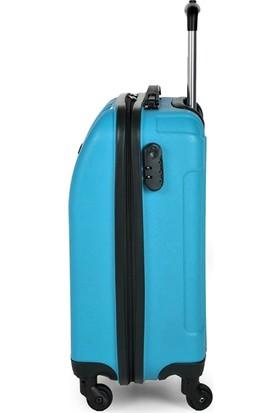 Blue Monkey V Model Kabin Boy Valiz Mavi