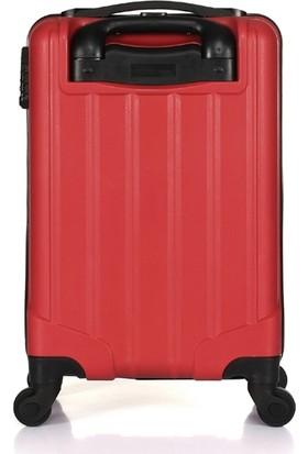 Uk Polo Club P1 Kabin Boy Valiz Kırmızı