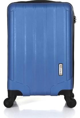 Uk Polo Club P1 Kabin Boy Valiz Mavi