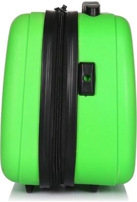 Uk Polo Club Pc1 Makyaj Çantası & El Valizi Yeşil