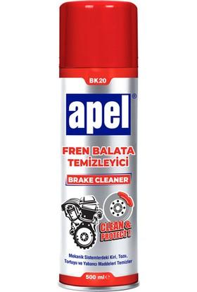 Apel Bk-20 Fren Balata Temizleyici