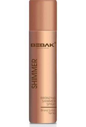 Bebak Bronzer Shimmer Işıltılı Vücut Spreyi 75ML