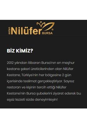 Nilüfer Kestane Şekeri 3'lü Duble Şerbetli Cam Kavanoz