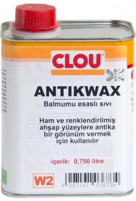 Clou W2 Sıvı Antik Wax Ahşap Cilası 750 ml