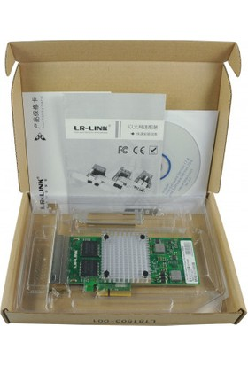 Lr-Link Intel I350-T4 1g Quad Rj-45 Ethernet Kartı (4 Port)