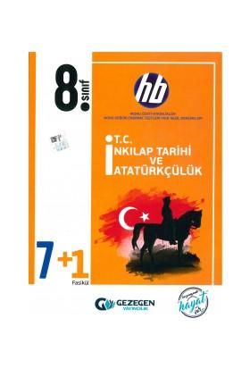 Gezegen Hb 8. Sınıf T.C. İnkılap Tarihi ve Atatürkçülük 7+1