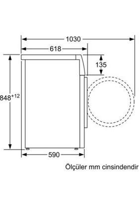 Profilo CMH140DTR A+++ 9 kg 1400 Devir Çamaşır Makinesi