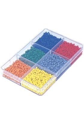 Hipaş Plastik - 6 Bölmeli Kapaklı Organizer Kutu - 602