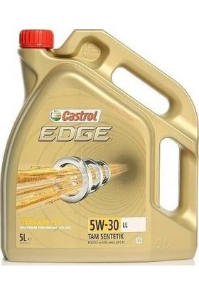 Castrol Edge 5W30 5 lt Motor Yağı (Üretim Yılı 2019)