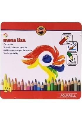 Koh-I Noor Mona Lisa Aquarell Kalem Seti 24'lü