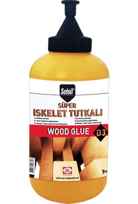 Selsil D3 Süper Iskelet Tutkalı Wood Glue 500 gr