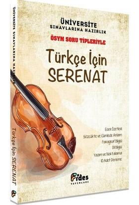 Fides Yayınları ÖSYM Soru Tipleriyle Türkçe İçin Serenat