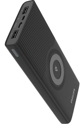 Philips DLP10026 Qi Kablosuz Taşınabilir Hızlı Şarj Cihazı 10000 mAh Powerbank (USB-C Çıkış + 2xUSB Port)