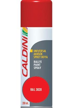 Caldini Universal Akrilik Sprey Boya Bayrak Kırmızı 200 ml