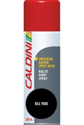 Caldini Universal Akrilik Sprey Boya Mat Siyah 200 ml