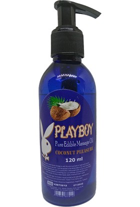 Playboy Pure Edible Massage Oil 120 ml Aromalı Masaj Yağı