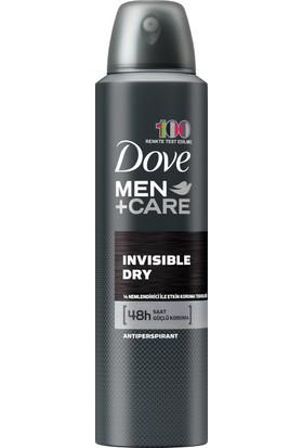 Dove Men Erkek Deodorant Sprey Invisible Dry 150 ML