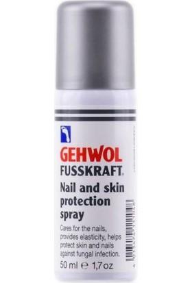 Gehwol Fusskraft Nail And Skin Protect Spray (Tırnak Koruyucu Sprey)