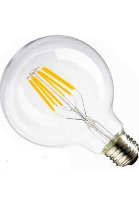 Osaka Light 8W Flamanlı LED G125 Ampul Beyaz