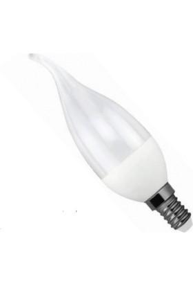 Osaka Light LED 018 E14 6W LED Kıvrık Buji Ampul Beyaz