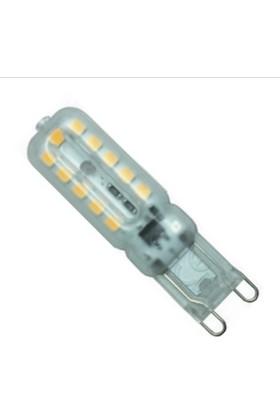 Osaka Light LED 147 220V 5W G9 Pc Şeffaf LED Kapsül Günışığı