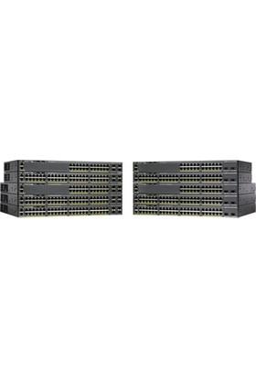 Cisco Catalyst 2960-X 24 GigE PoE 370W 2 x 10G SFP+ LAN Base