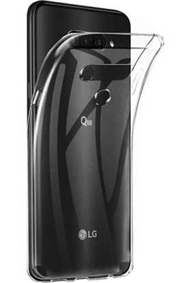 Microcase LG Q60 Soft Silikon Kılıf - Şeffaf