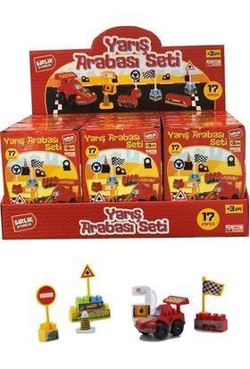 Birlik Oyuncak Yarış Arabası Blok Seti 16 Parça