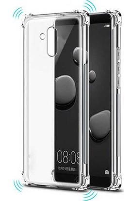 Esepetim Huawei Mate 20 Lite Dört Köşeli Kılıf - Şeffaf