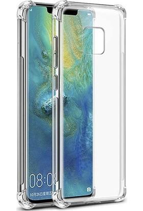 Esepetim Huawei Mate 20 Pro Dört Köşeli Kılıf - Şeffaf