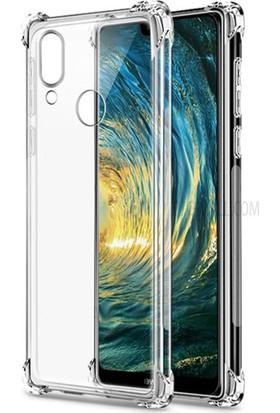 Esepetim Huawei P20 Lite Dört Köşeli Kılıf - Şeffaf