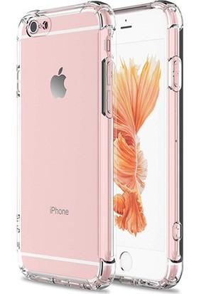 Esepetim Apple iPhone 6/6S Dört Köşeli Kılıf - Şeffaf