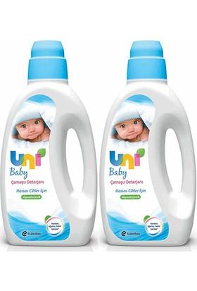 Uni Baby Çamaşır Deterjanı Hassas Ciltler Için 1800 ml 2 li Paket