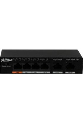 Dahua PFS3006-4ET-60 4-Port Hızlı Ethernet Poe Switch