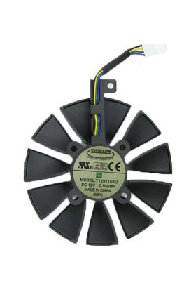 ASUS ROG STRIX-GTX1070-O8G-GAMING 5PIN FAN