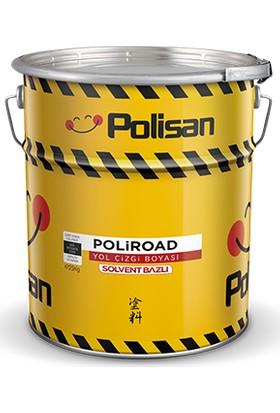 Polisan Poliroad Solvent Bazlı Yol Çizgi Boyası Beyaz 25 kg