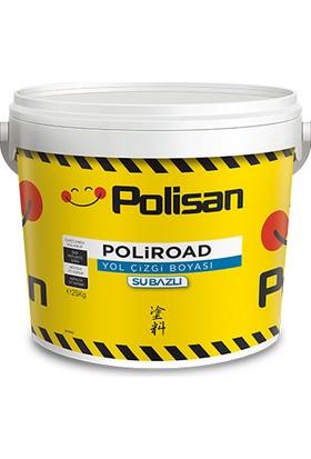 Polisan Poliroad Su Bazlı Yol Çizgi Boyası Beyaz 25 kg
